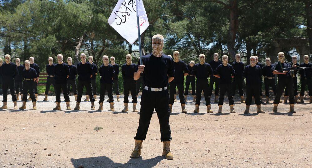 Membres de l'Armée syrienne libre