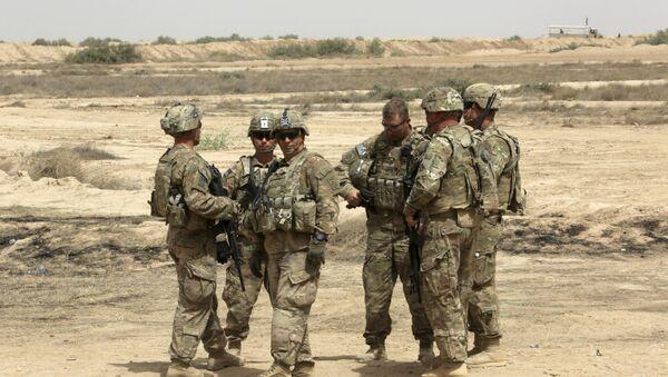 Des soldats américains en Irak (archive photo) - Sputnik France
