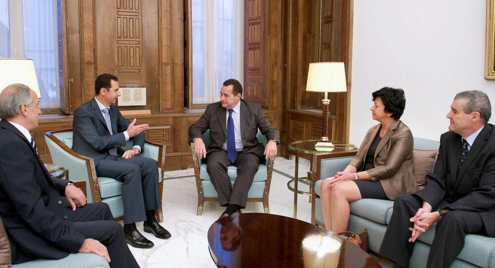Parlementaires français en Syrie, Oct. 28, 2015.