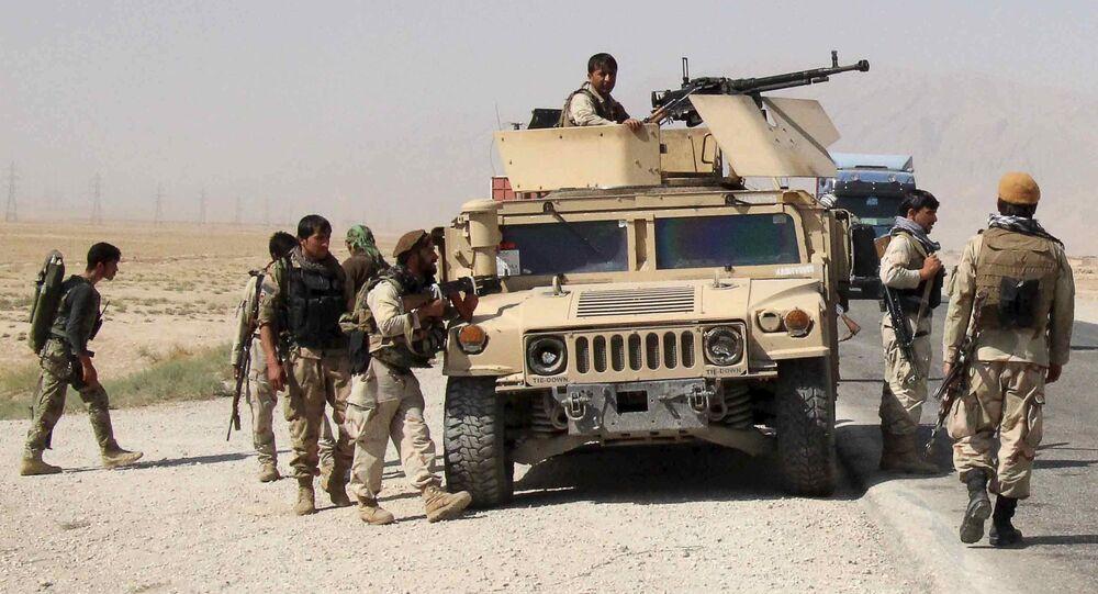 Forces de sécurité afghanes