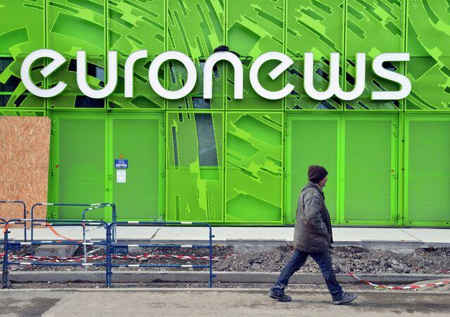 Bureau d'Euronews à Lyon