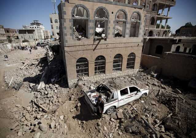 Destructions à Sanaa
