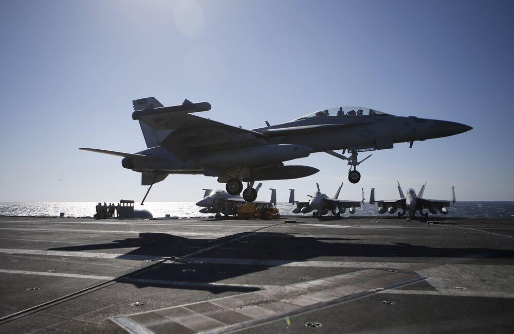 Exercices militaires navals des Etats-Unis et de la Corée du Sud