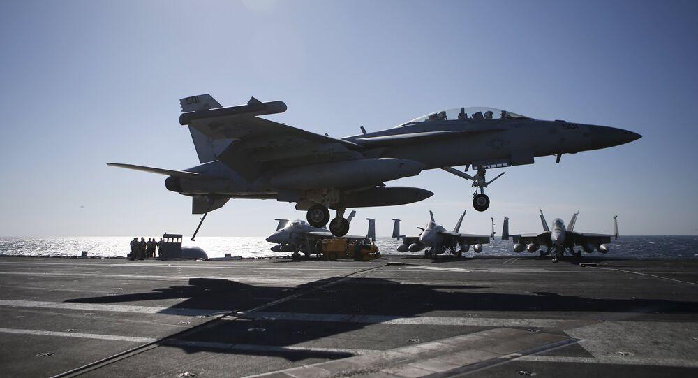 Un F/A-18 Super Hornet