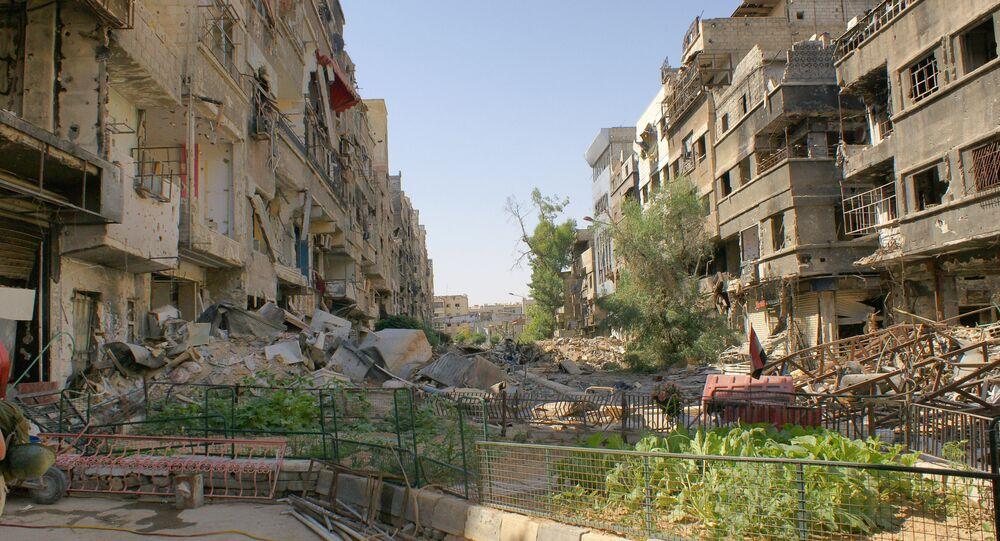 banlieue de Damas