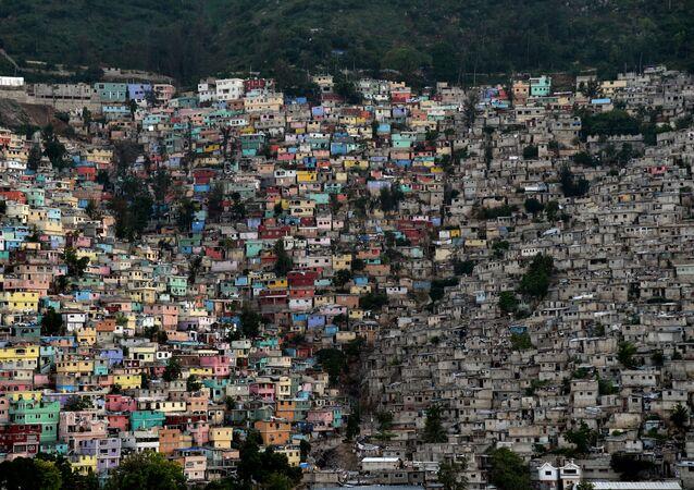 Quartiers pauvres de Port-au-Prince (Haïti), octobre 2015 (image d'illustration)