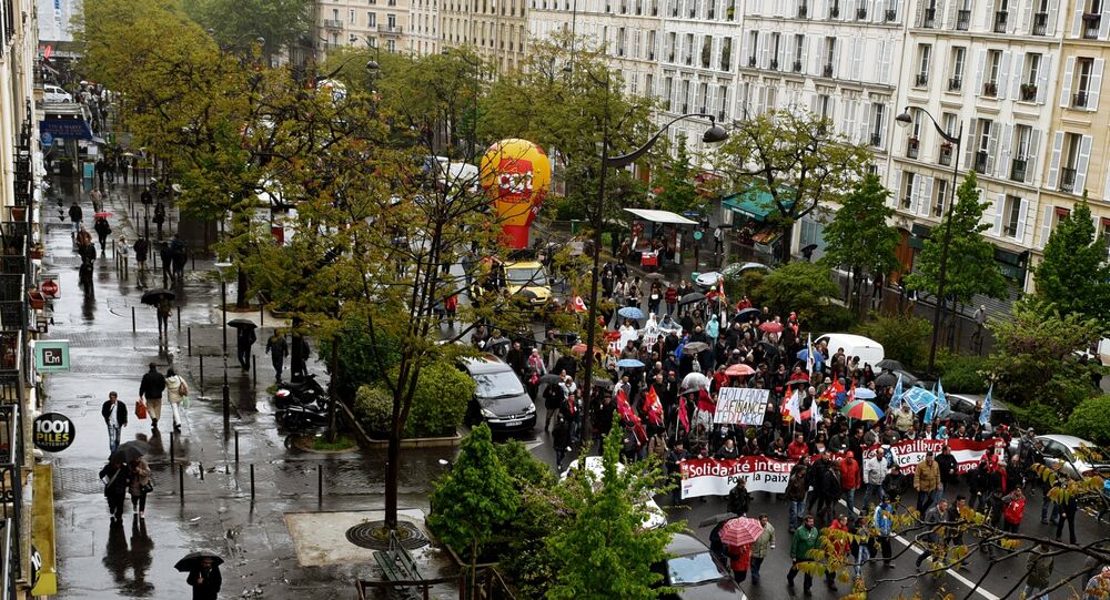 Une manifestation à Paris