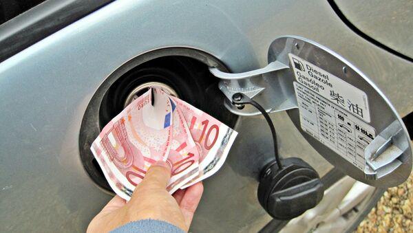 Euros in Fuel Tank - Sputnik France