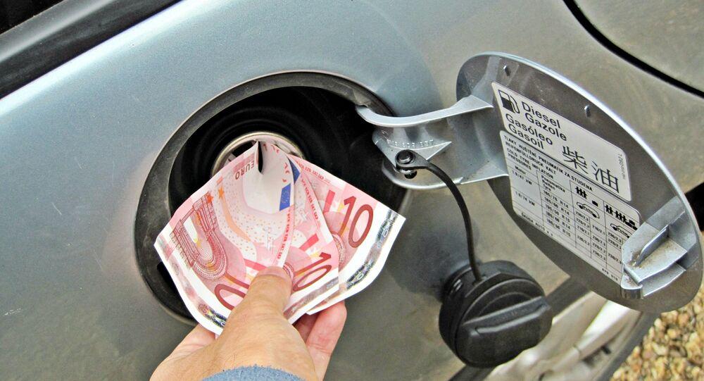 Réservoir d'essence