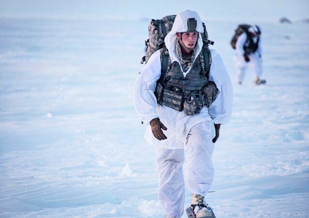 Soldats américains en Alaska