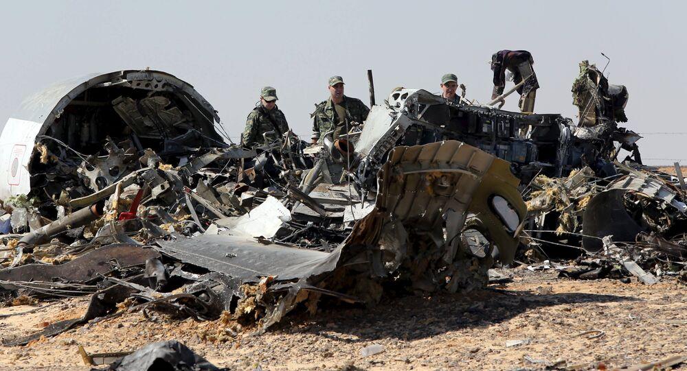 Des experts russes sur les lieux du crash d'un Airbus de Metrojet en Egypte