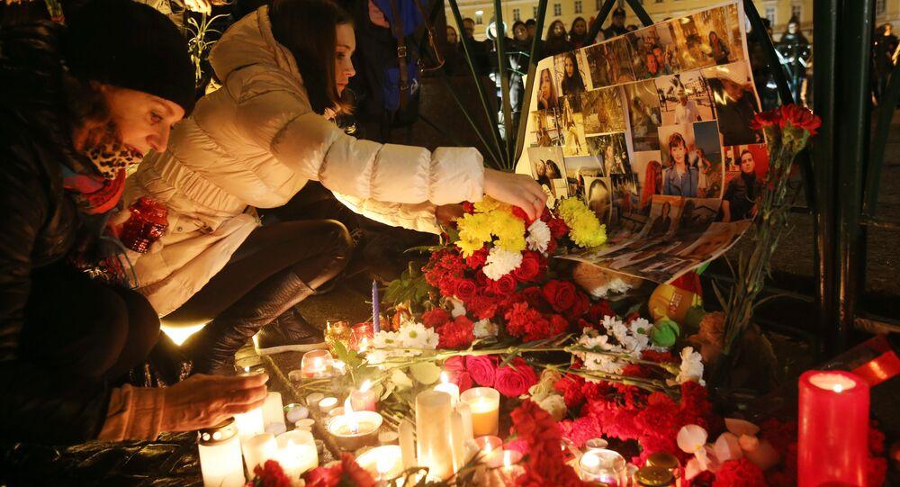 Jour de deuil national en Russie suite au crash d'un avion en Egypte