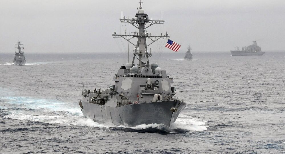 US Navy guided-missile destroyer USS Lassen