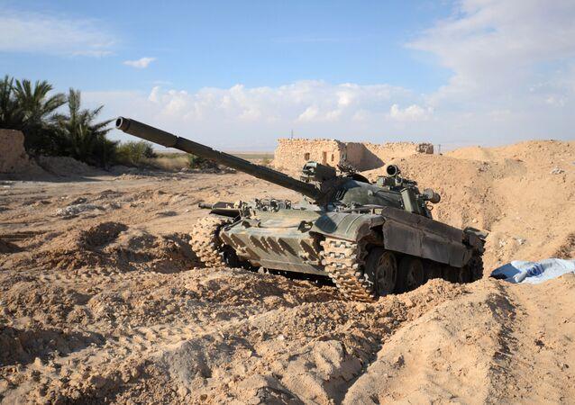 Un char T-72