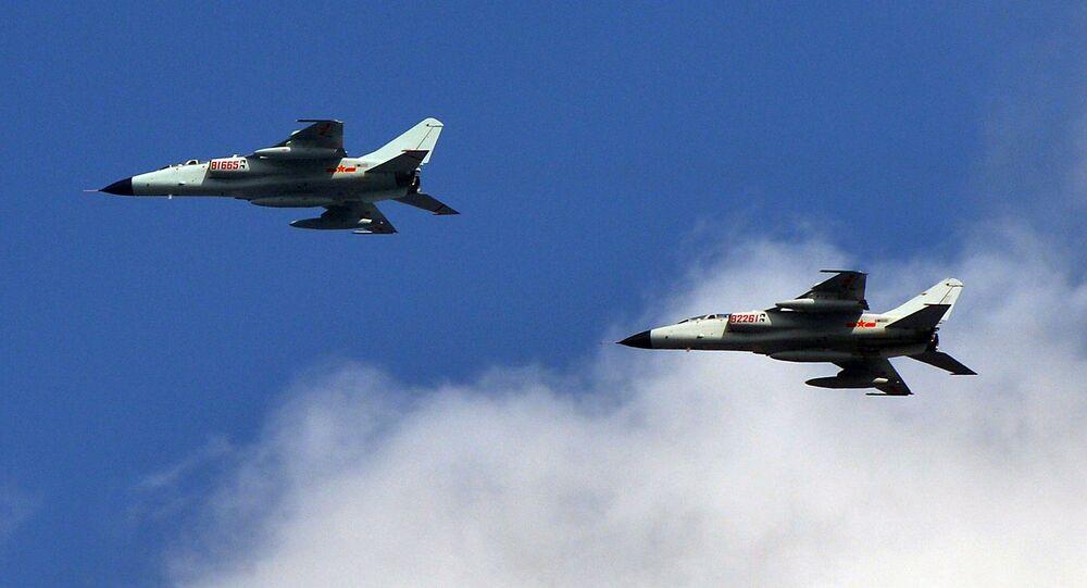 Avions de chasse chinois