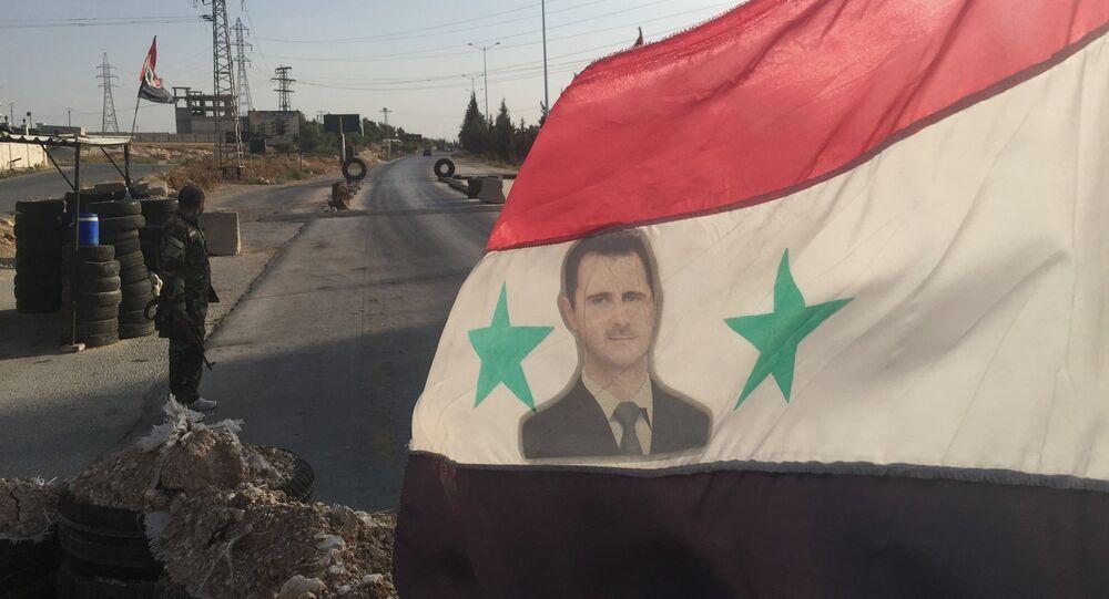 L'armée syrienne dans la province de Hama