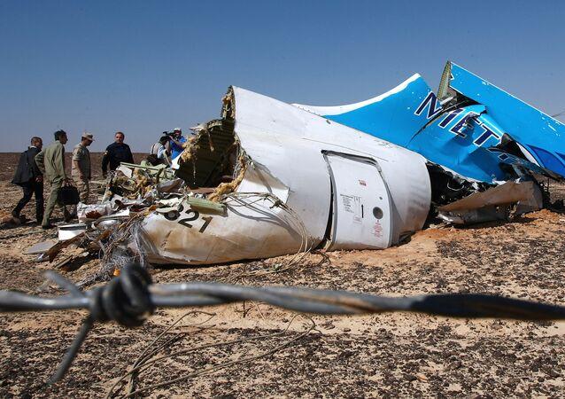 le crash de l'Airbus A321 de la compagnie aérienne russe Kogalymavia