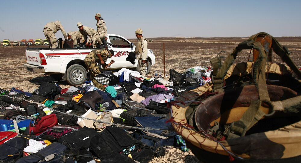 Le crash de l'avion russe Airbus A321 en Egypte