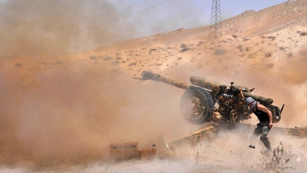Terroristes en Syrie, Palmyre - Sputnik France