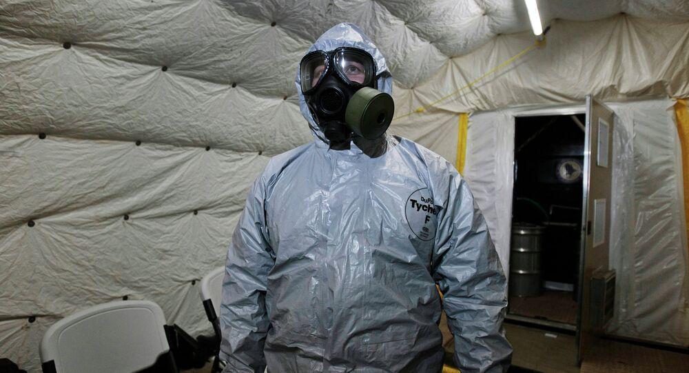armes chimiques