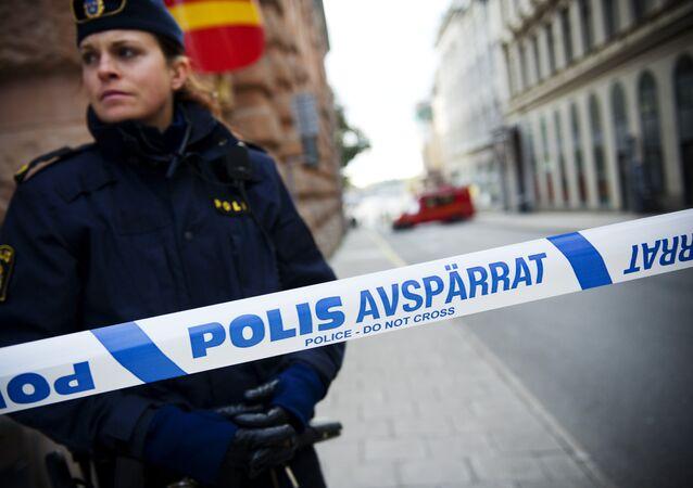 La police de Stockholm, image d'illustration
