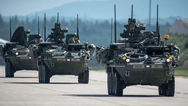 Véhicules de combat d'infanterie Stryker - Sputnik France