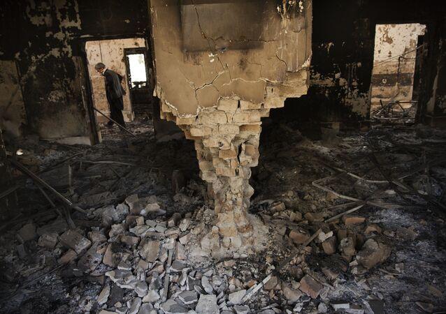L'hôpital de MSF détruit à Kunduz