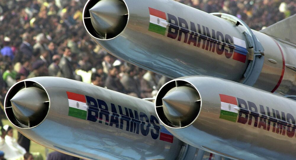 Missile supersonique indien BrahMos