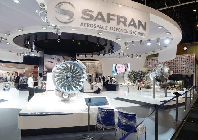 Stand du groupe Safran au Salon du Bourget 2015 (archives)
