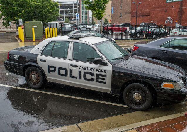 Une voiture policière