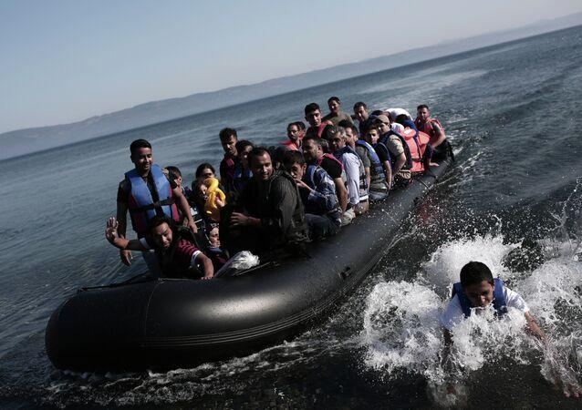 Image d'illustration: migrants illégaux