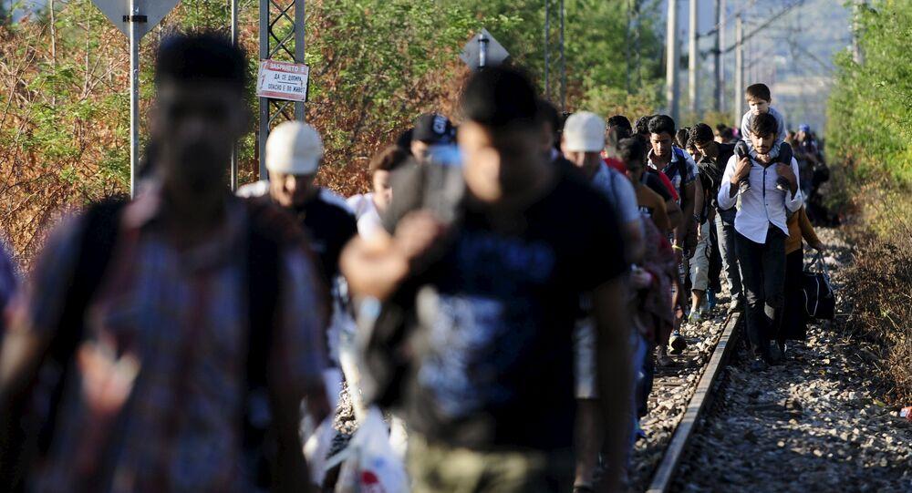 Les migrants se mettent à quitter l'Autriche