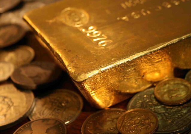 L'or en lingot