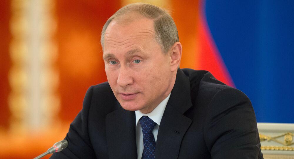 Президент РФ В.Путин провел заседание Совета по развитию гражданского общества и правам человека