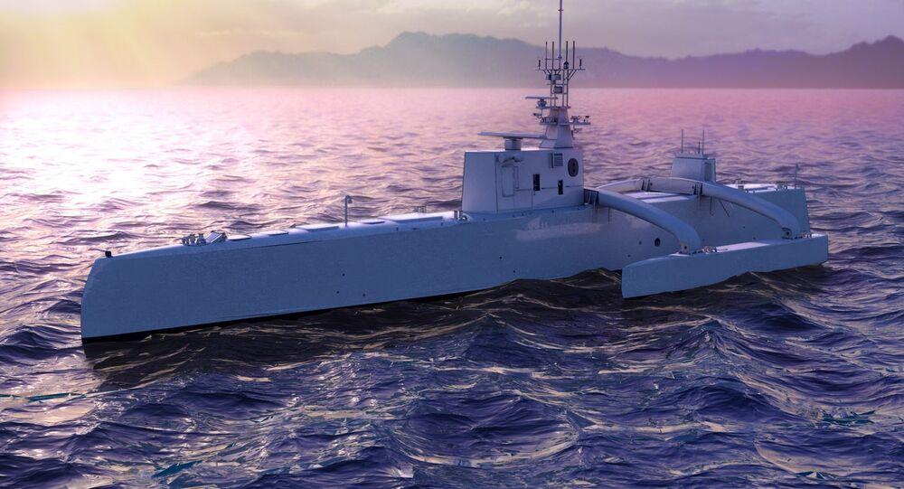 Sous-marin de chasse Drone