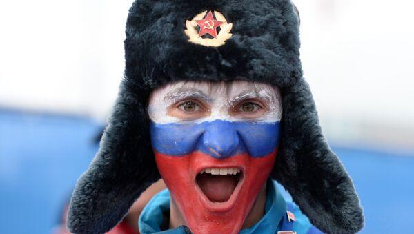 Fan russe, Jeux olympiques - Sputnik France