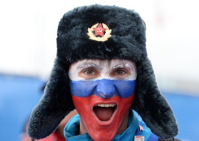 Fan russe, Jeux olympiques