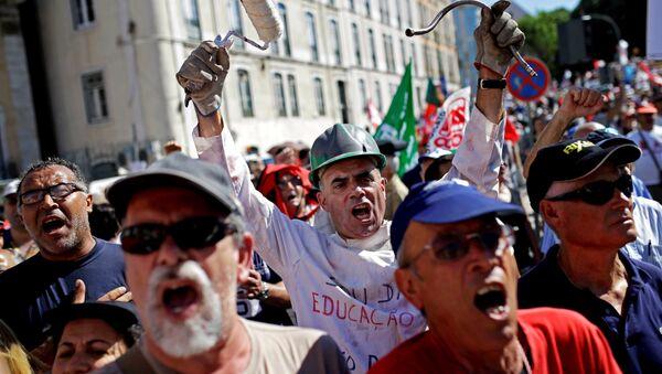 Manifestation au Portugal - Sputnik France
