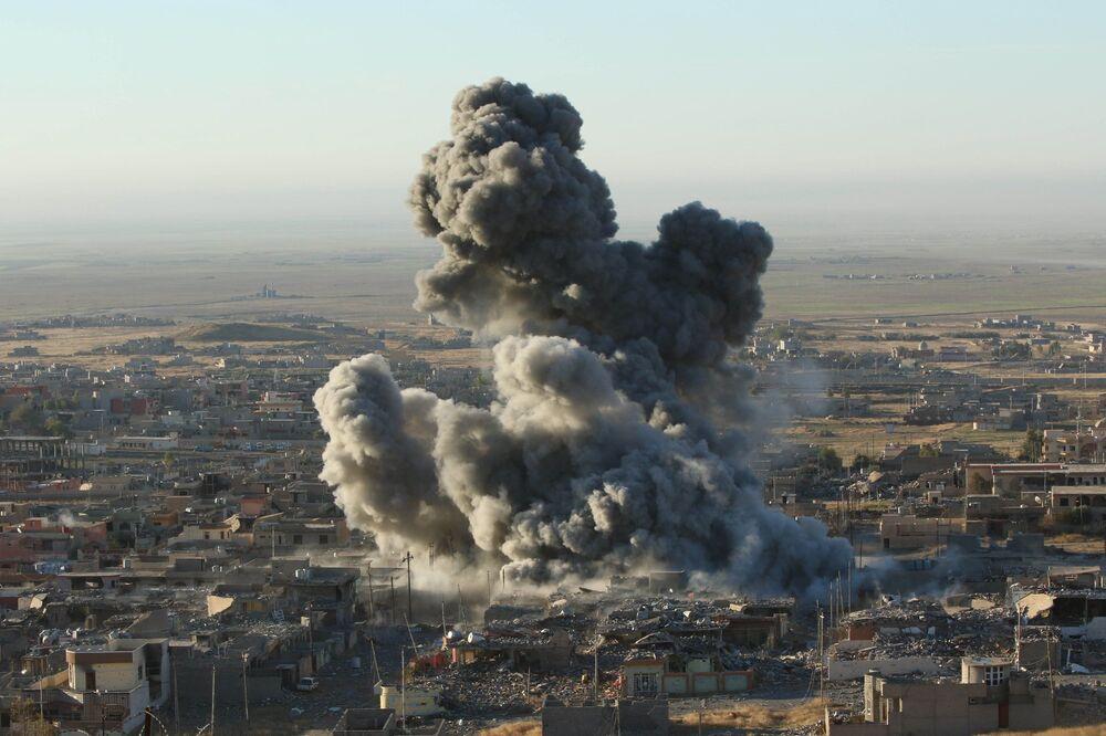 Les Kurdes peshmergas à l'offensive contre Daesh dans le nord de l'Irak