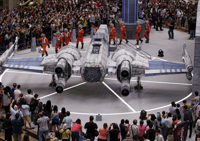 Star Wars débarque à l'aéroport de Singapour