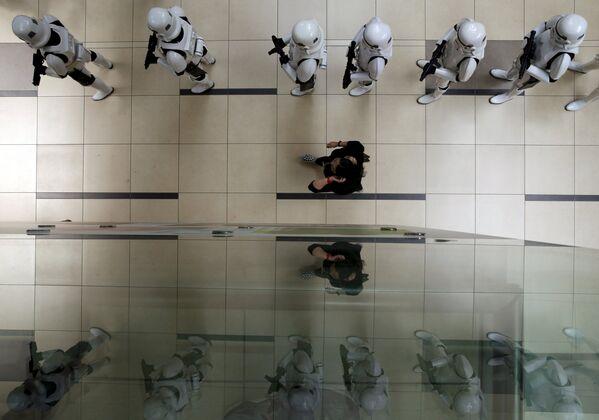 Star Wars débarque à l'aéroport de Singapour - Sputnik France