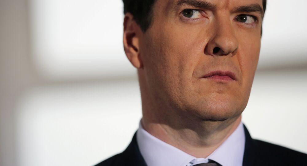 Le chancelier de l'Échiquier George Osborne