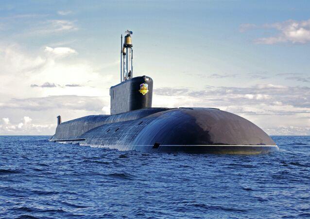 Le sous-marin K-550 Alexander Nevsky