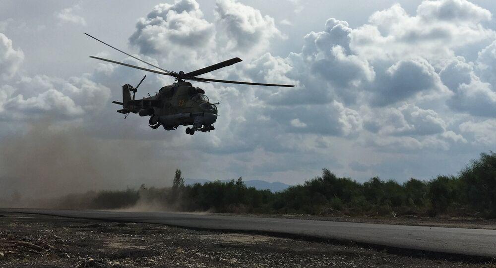 L'Etat islamique abat un hélicoptère russe près de Palmyre