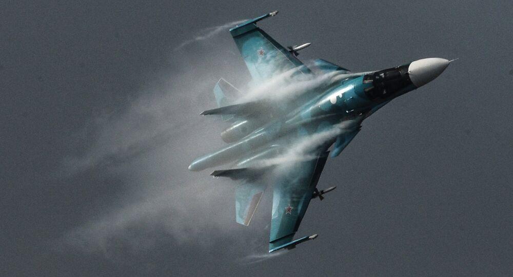 Le bombardier russe Su-34