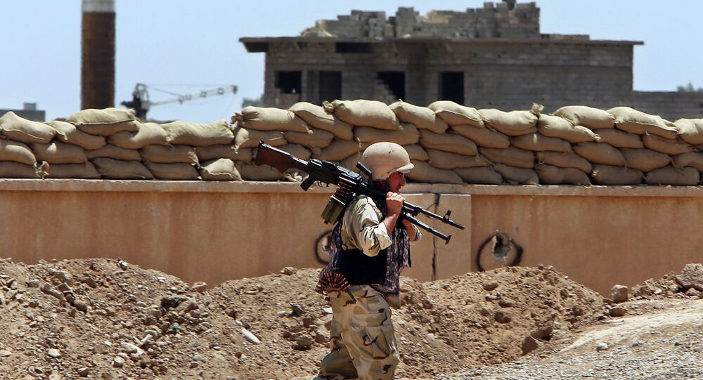 Un combattant peshmerga