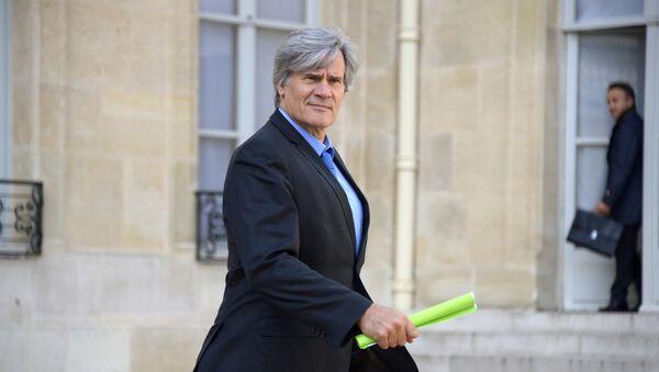 le porte-parole du gouvernement, Stéphane Le Foll - Sputnik France