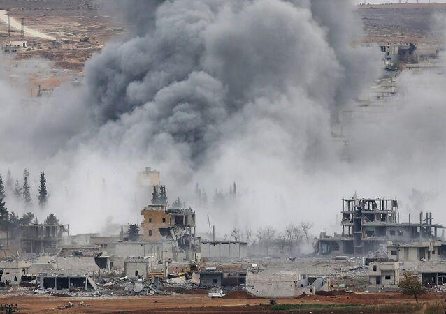 Des frappes aériennes américaines en Syrie