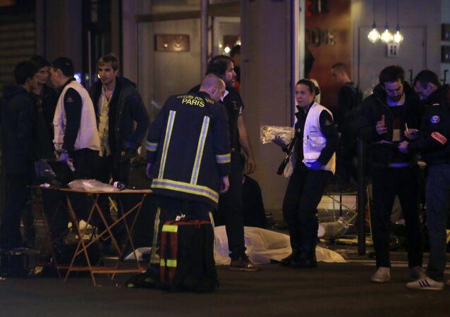 fusillades à Paris