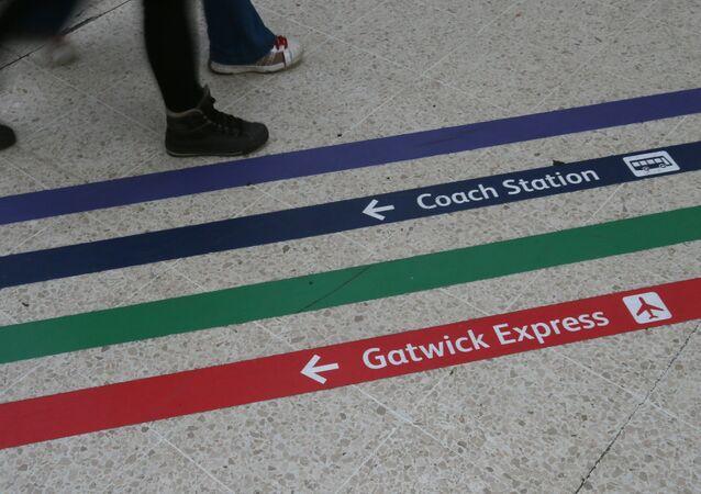 L'aéroport londonien de Gatwick